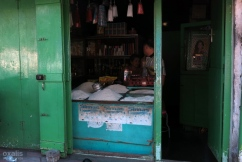 a rice stall